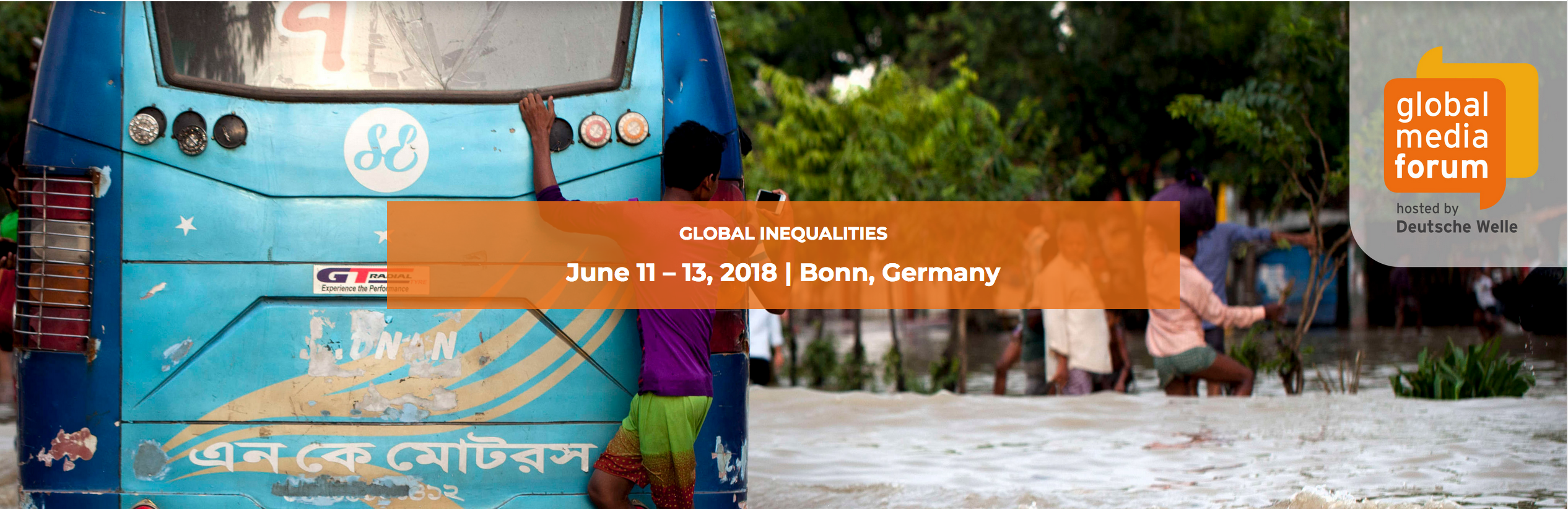 Banner of DW GMF 2018