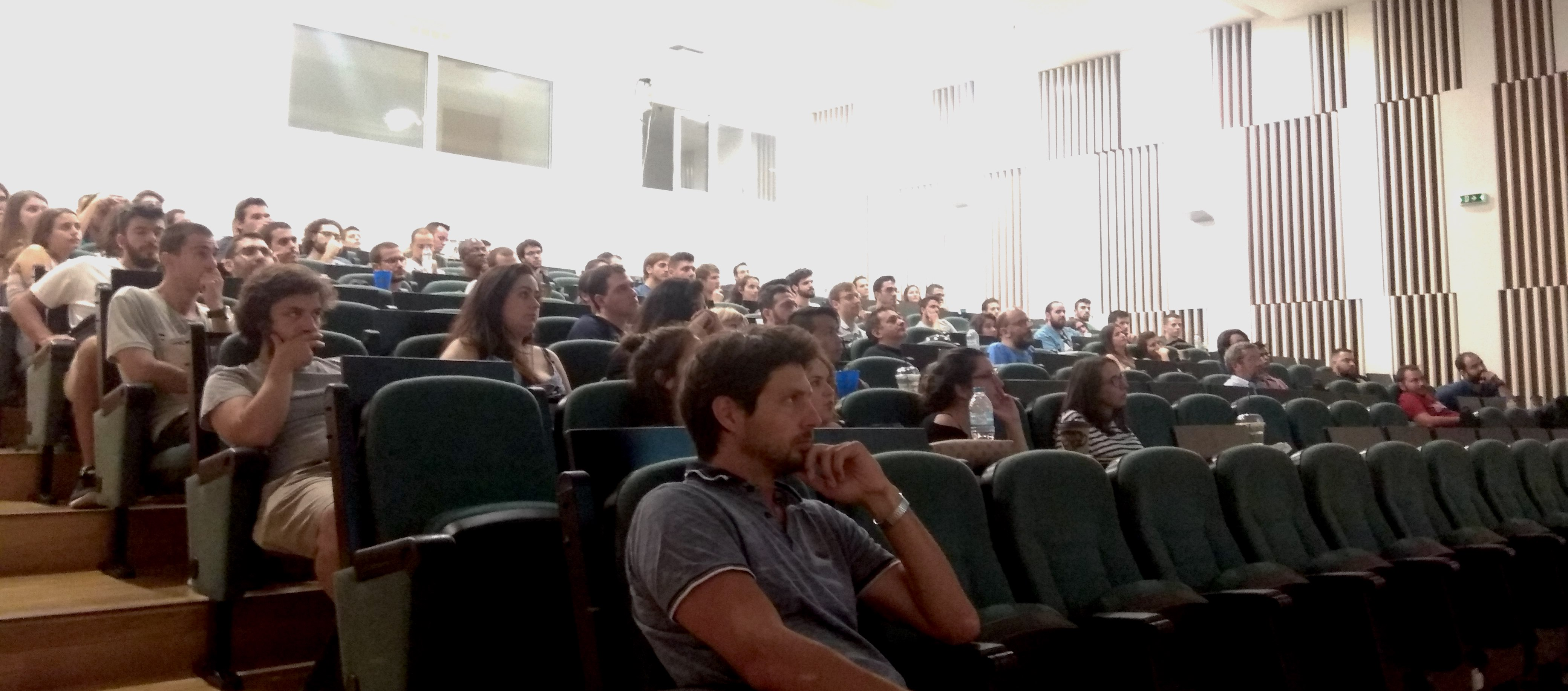 Impressions from the lectures during the summer school