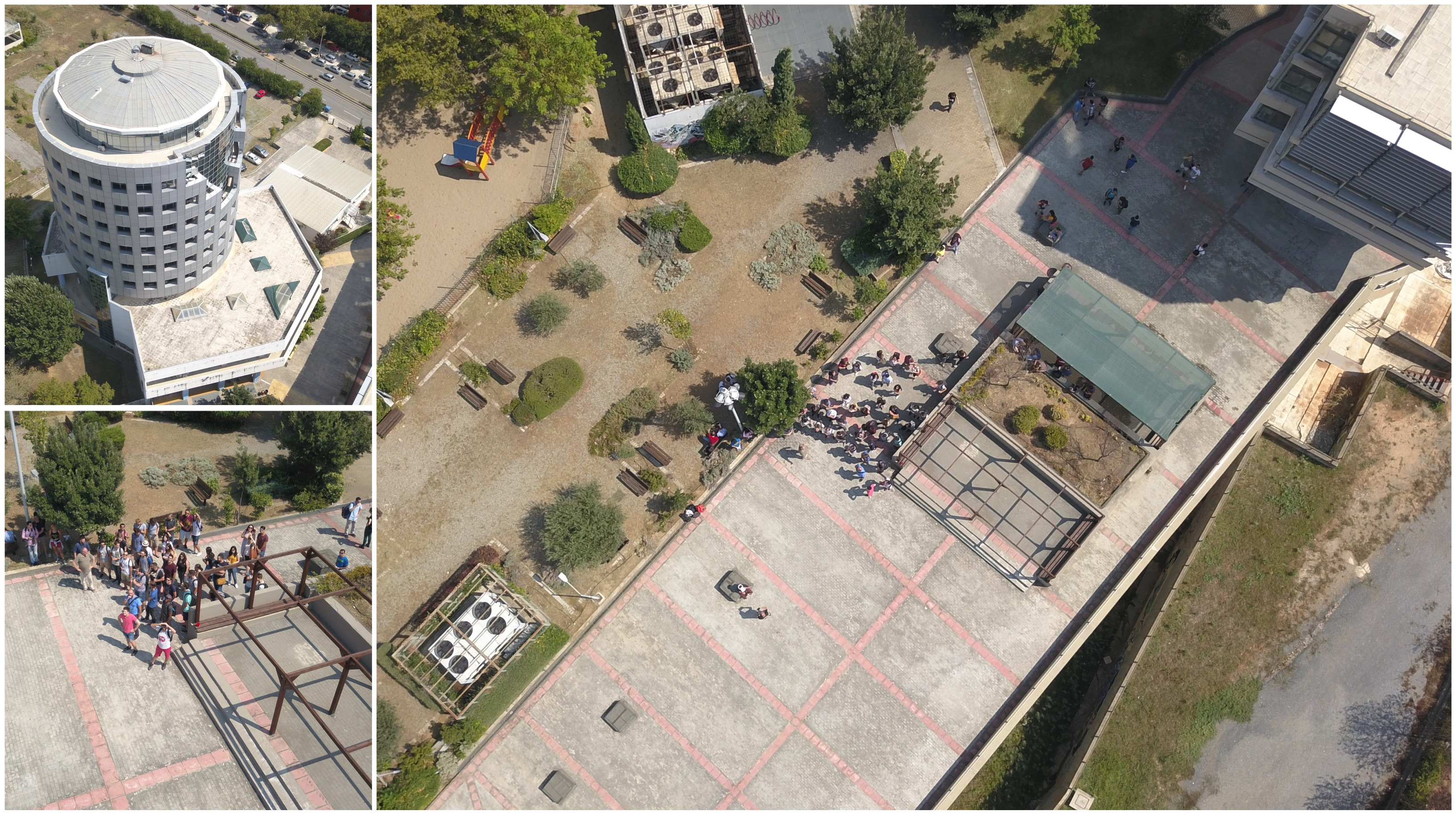 Images from the Drone Sessions with the students