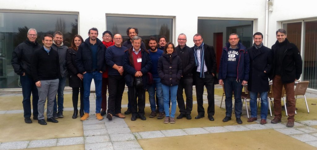 The MultiDrone-Consortium in Nancy